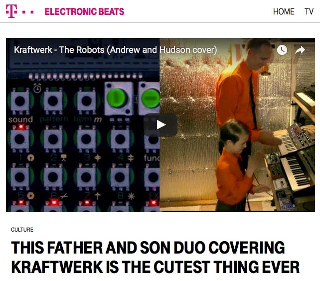 Electronic Beats-Robots